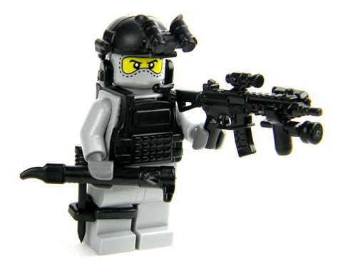 Lego Speciall Forces custom lego r army builder pj special forces modern