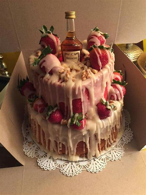 hennessy cake addicted  making sweets pinterest sexy cakes