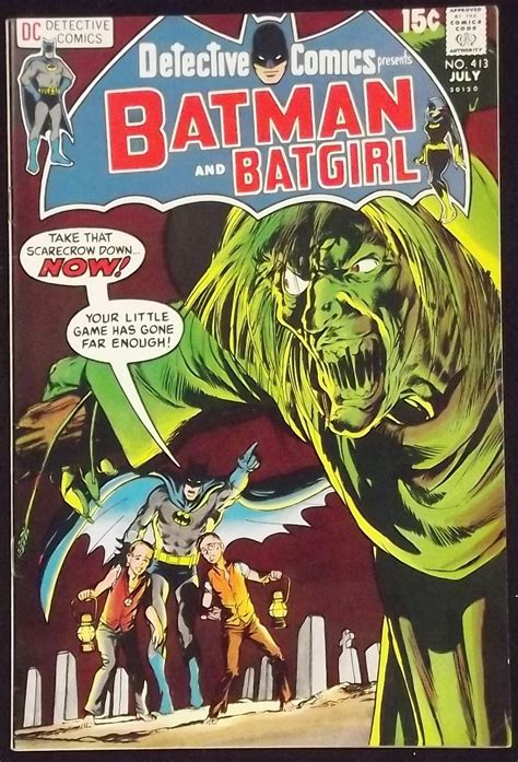 batman detective comics detective comics 413 vf batman batgirl neal adams cover