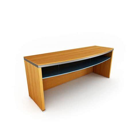 modern wood office desk office desk modern wood grain 3d model cgtrader