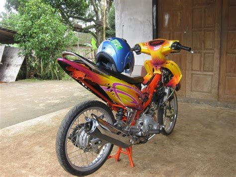 Footstep Underbone Mio Bpro Racing drag modification modif drag race fcci drag jupiter mx drag racing looks concept