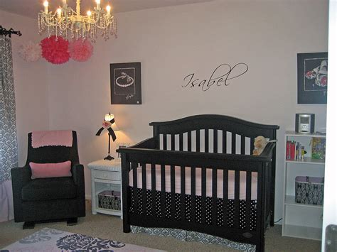 pink nursery ideas black white and pink nursery ideas popsugar moms