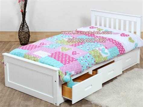 Ranjang Minimalis No 3 jual tempat tidur single anak berlaci model terbaru murah