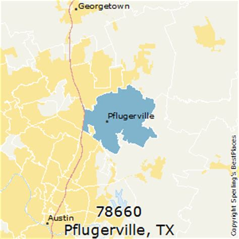 pflugerville texas map best places to live in pflugerville zip 78660 texas