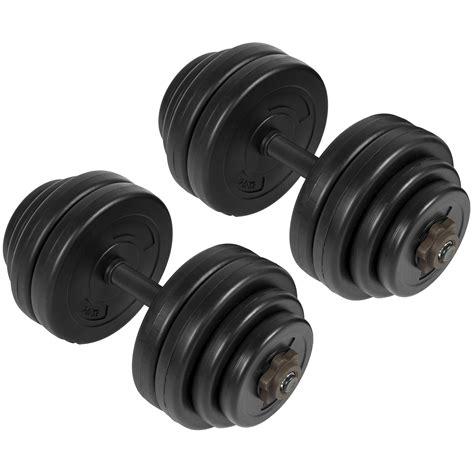 Barbel Fitness bcp 64lb weight dumbbell set adjustable cap barbell plates workout ebay