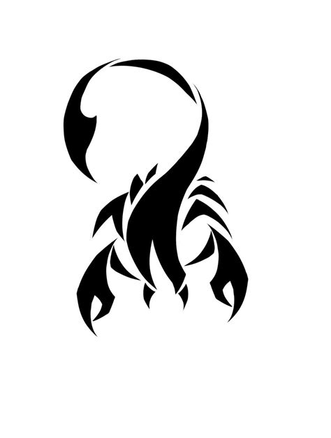 tribal scorpion tattoo designs scorpio tattoos designs ideas and meaning tattoos for you
