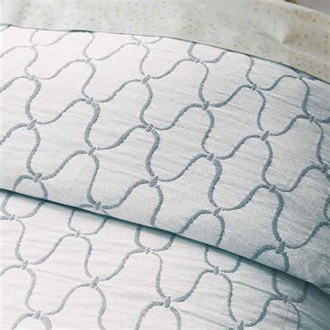 West Elm Matelasse Duvet Organic Bristol Matelasse Duvet Cover Stone White Blue