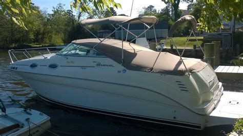 Enclosed Shower sea ray 260 sundancer boat for sale from usa