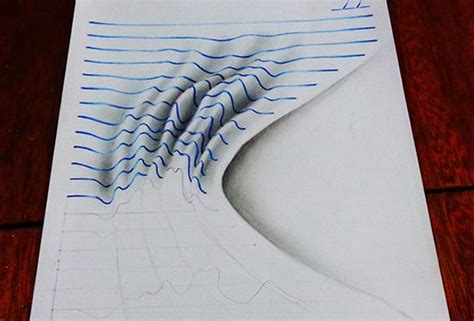 tutorial gambar optical art 20 awe inspiring 3d pencil drawings by 16 year old artist
