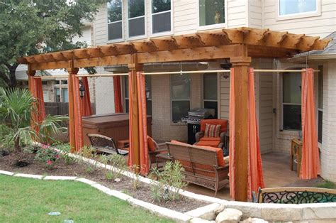 What Is A Pergola And The Way To Apply It At Your Home Outdoor Curtains For Pergola