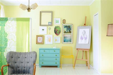 brilliant ideas of wall combination for light yellow