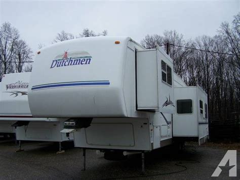 fifth wheel with 2 bathrooms 2003 dutchman 35bh 5th wheel with 2 bathrooms 2003