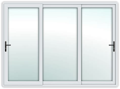 door for glass sliding door sliding door white 3 track 3 glass panel without