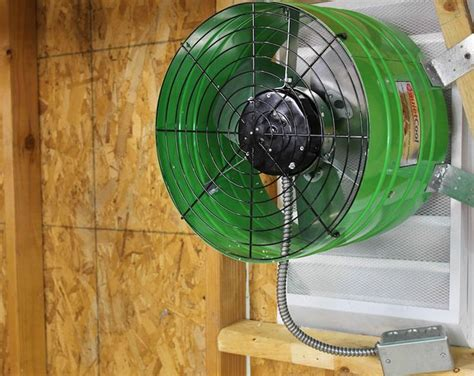 variable speed attic fan don t bake in your garage in the summer install this