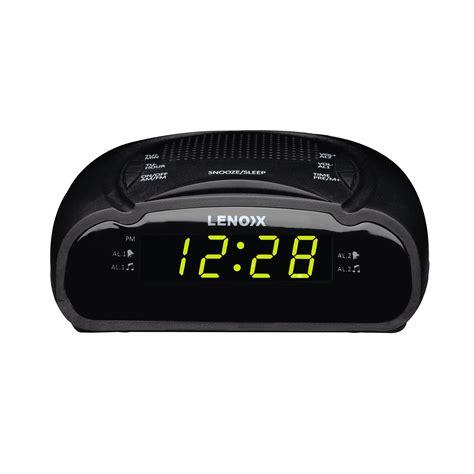 amfm clock radio lenoxx electronics australia pty