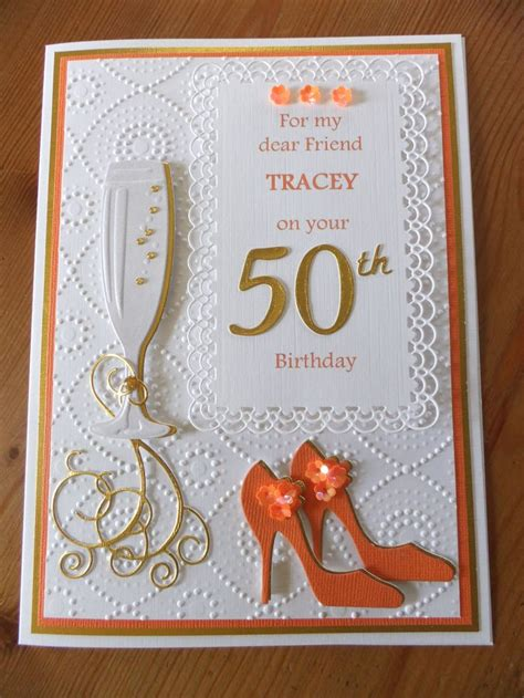 Handmade 50th Birthday Cards - best 25 50th birthday cards ideas on 50