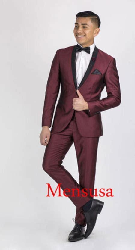 wine color tuxedo mens burgundy suits go suits
