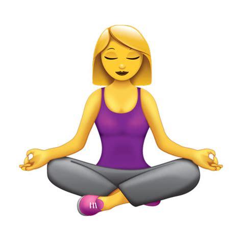 Emoji Yoga | emoji request meditatingemoji