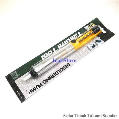 Goot Wick Penyedot Timah Cellkit takumi penyedot timah solder ukuran standar ical store