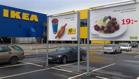 ikea parking lot ikea withdraws sausages in some european stores cp24 com