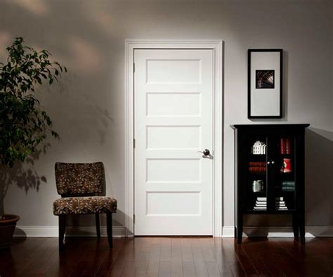 White Wood Doors Interior How To Emphasize The Elegance Of Wood Doors In Interior Design