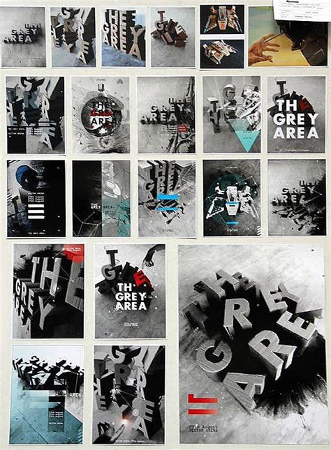 typography projects creative use of media in an a level graphic design project
