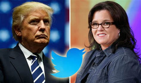 Donald Receives A Pair Of Rosie by Donald Resumes Row With Rosie O Donnell