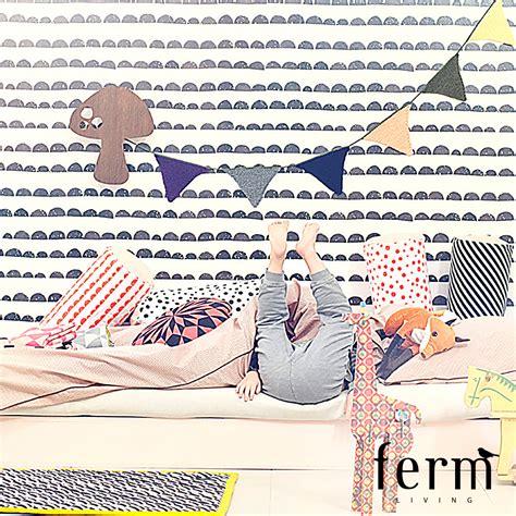 Wonderful Walls At Ferm Living by Half Moon Wallpaper Black White Ferm Living Modernoutlet