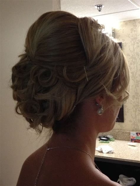 Updo for long, thick hair   Charisma Salon Portfolio
