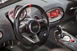 Kia Rio 2014 Interior Kia Gt4 Stinger Concept First Look Motor Trend