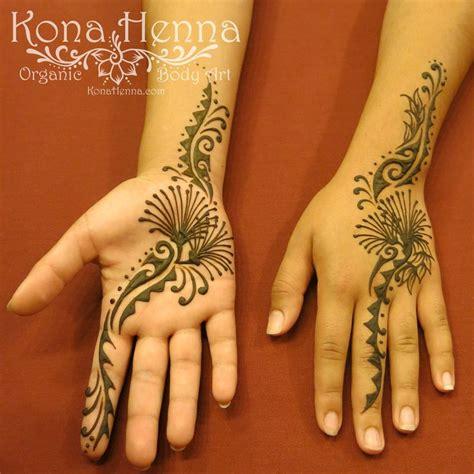 hawaiian flower henna tattoo organic henna products professional henna studio