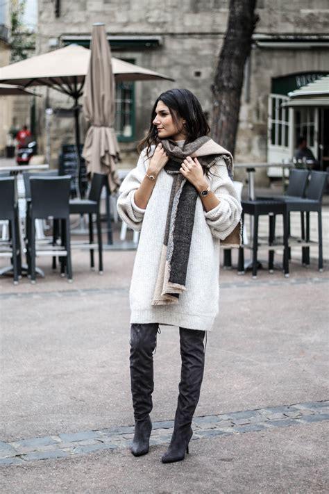 robe pull oversize cuissardes june sixty five mode - Robe En Pull Zara