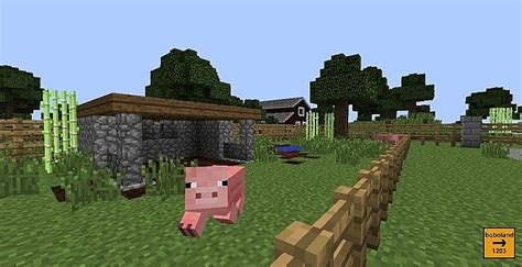 pig pen minecraft project