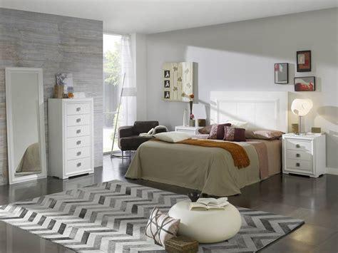 habitacion dormitorio dormitorio matrimonio lacado blanco