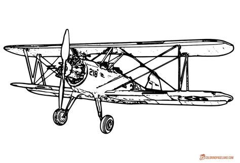 plane für terrassenüberdachung airplane coloring pages free printable b w pictures