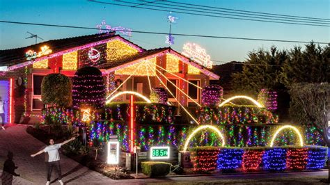 where to find melbourne s best christmas light decoration