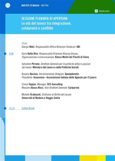 ufficio legale monte dei paschi di siena forum abi hr banche e risorse umane 2014 programma