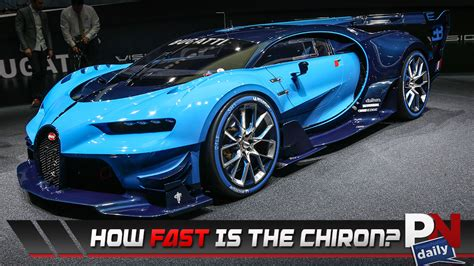 what is the top speed of bugatti the all new bugatti chiron gets an top speed