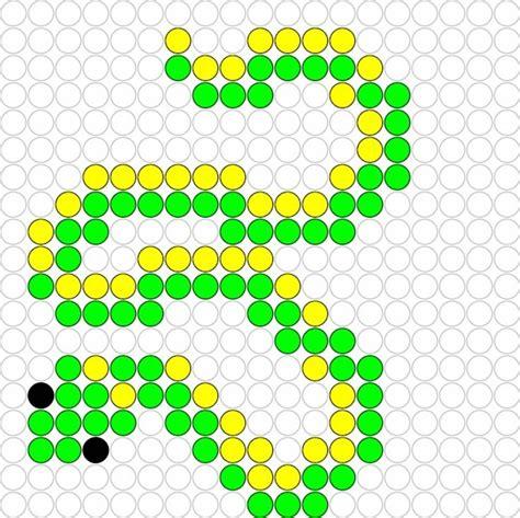 pattern meaning in slang slang snake hama perler beads pattern hama beads