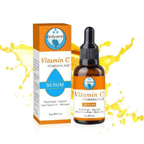 Distributor Serum Vitamin C vitamin c combine hyaluronic acid serum manufacturers