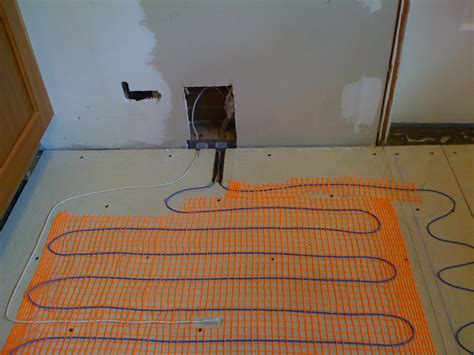 Floor Warmer kitchen diy heated floor and new tile andy idsinga make