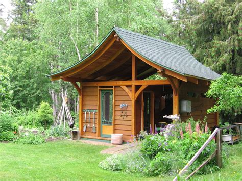 wooden backyard sheds fairytale backyards 30 magical garden sheds