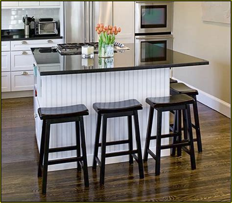 kitchen island granite top breakfast bar home design ideas