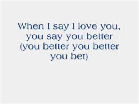 The Who You Better You Bet You Better You Bet The Who With Lyrics