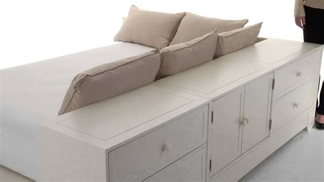 platform bed with storage maximize style and storage with beds pbteen pottery barn