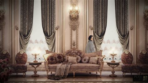 luxurious interiors inspired  louis era french design