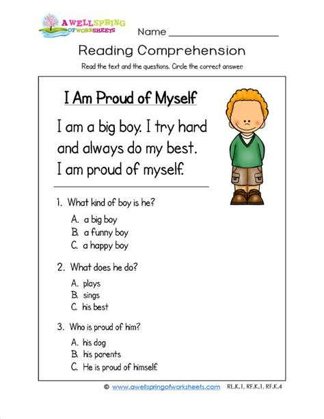 Comprehension Worksheets With Questions by 108 Best Worksheet Images On