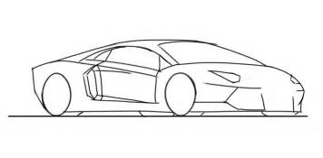 How To Draw A Lamborghini Easy How To Draw A Lamborghini Aventador 5 Junior Car Designer