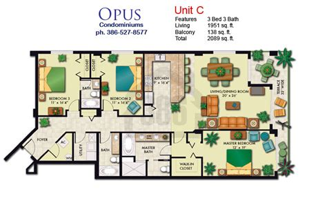 condominium floor plan opus condo floor plans daytona shores condos