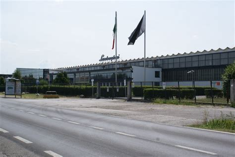Lamborghini Factory Location Panoramio Photo Of The Lamborghini Factory